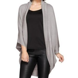 Lizden Tops - Layers by Lizden Marvelush Ribbed Shawl Collar